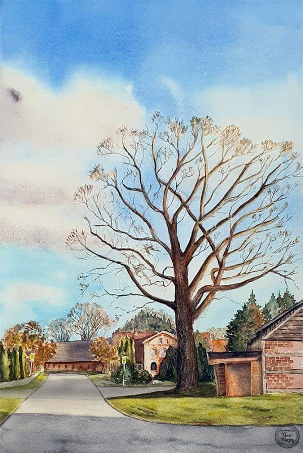 Oak in Wierstorf